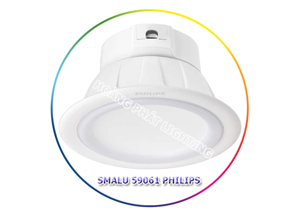 den led downlight 9W 59061 Philips