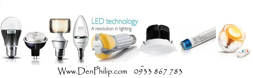 bong den led philips
