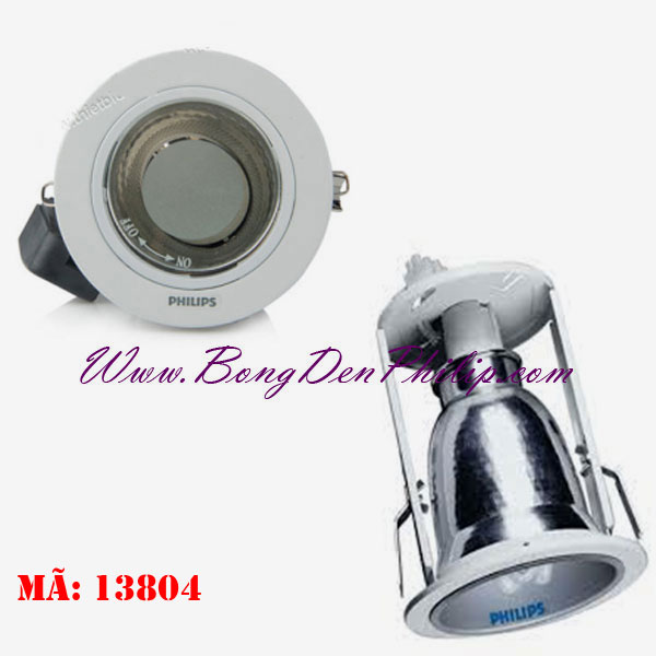 Đ 232 N Downlight 226 M Trần Philips 13804