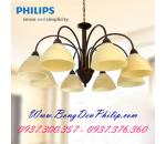 Đèn chùm Philips 60079 Brown Brushed