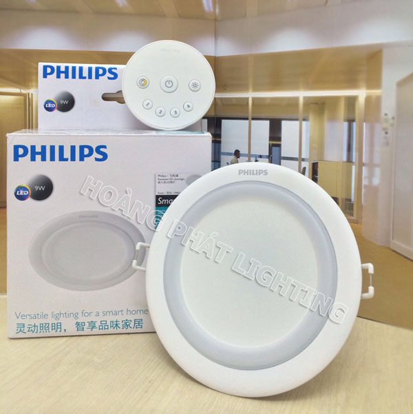 den led downlight thong minh SMALU 59062 Philips